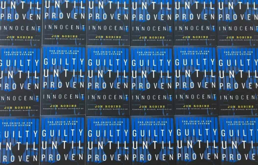 Guilty Until Proven Innocent Book Launch